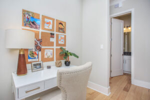 The perfect space to work from home!