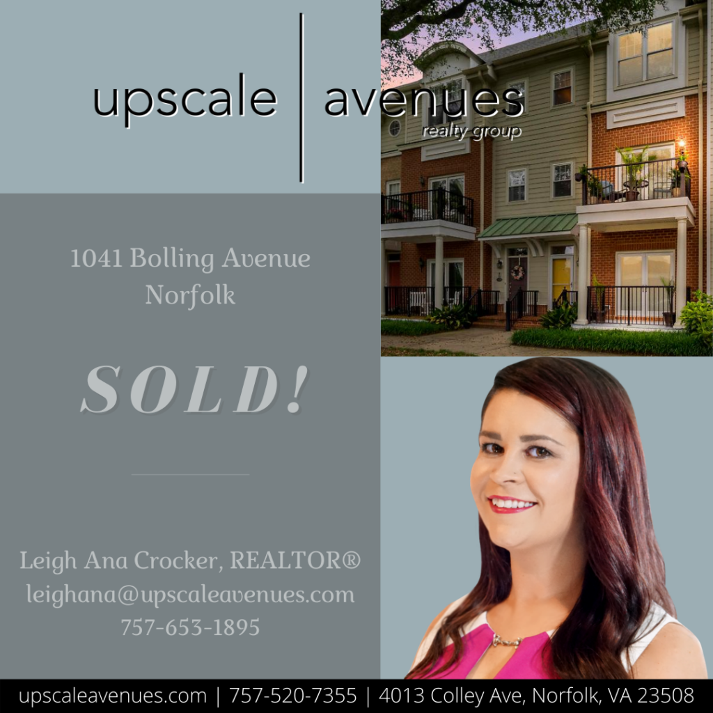 1041 Bolling Avenue Norfolk - Sold