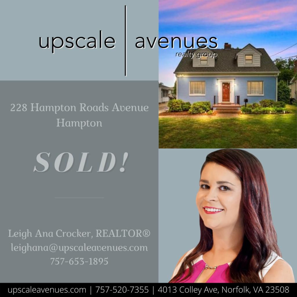 228 Hampton Roads Avenue Hampton - Sold