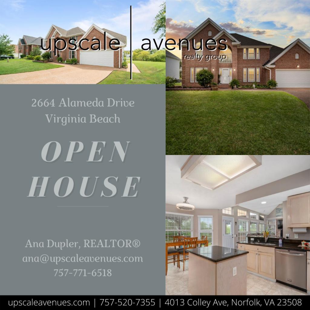 2664 Alameda Drive Virginia Beach - Open House