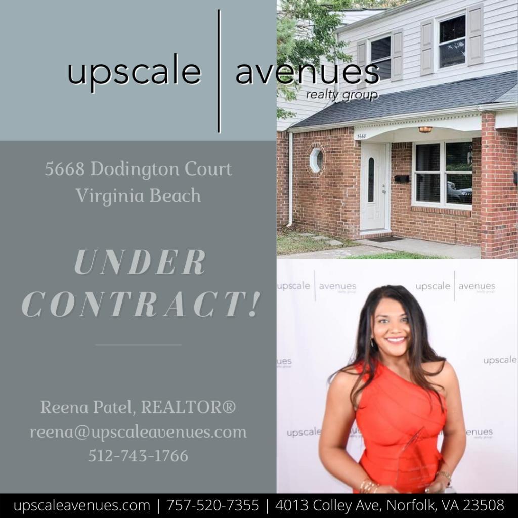 5668 Dodington Court Virginia Beach - Under Contract