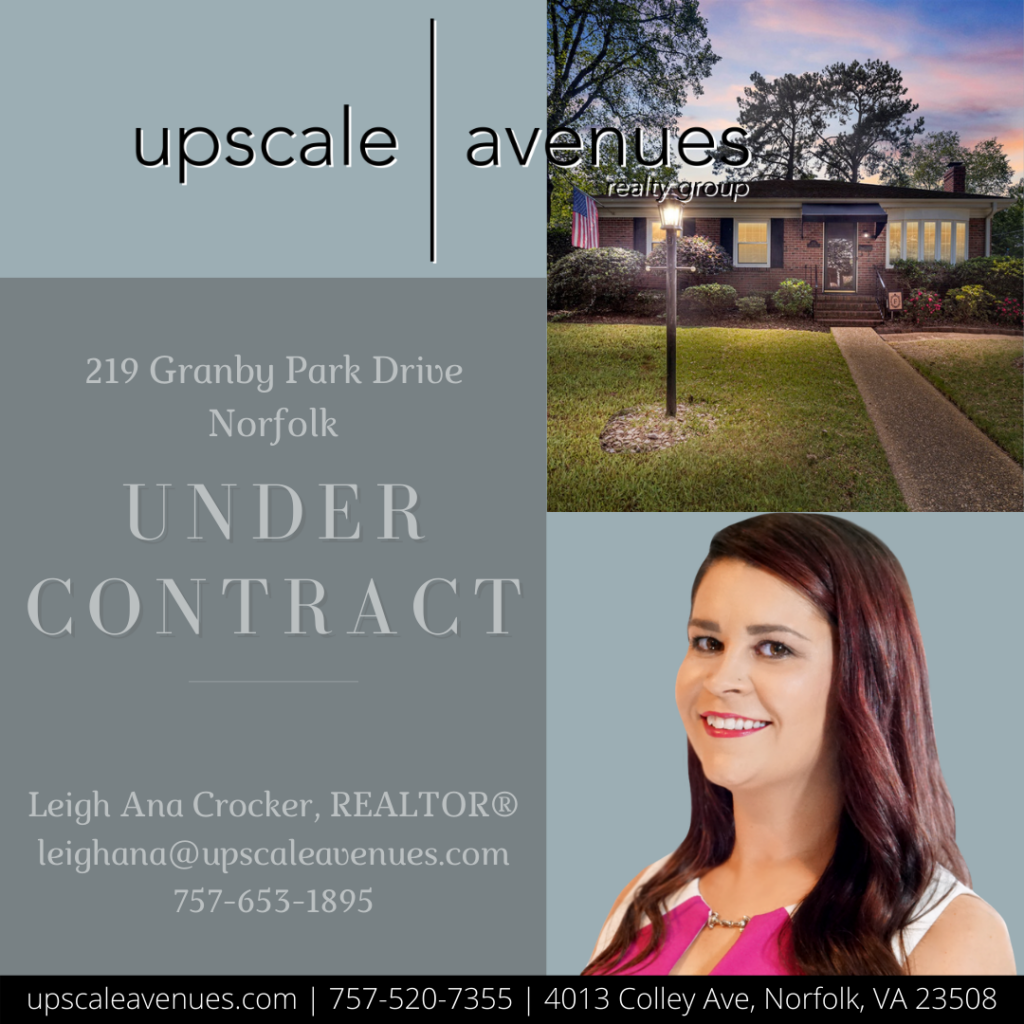 219 Granby Park Drive Norfolk - Under Contract