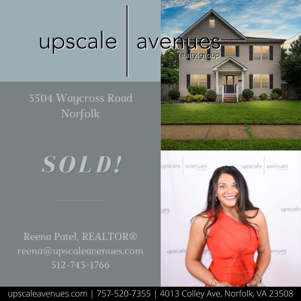 3504 Waycross Road Norfolk - Sold