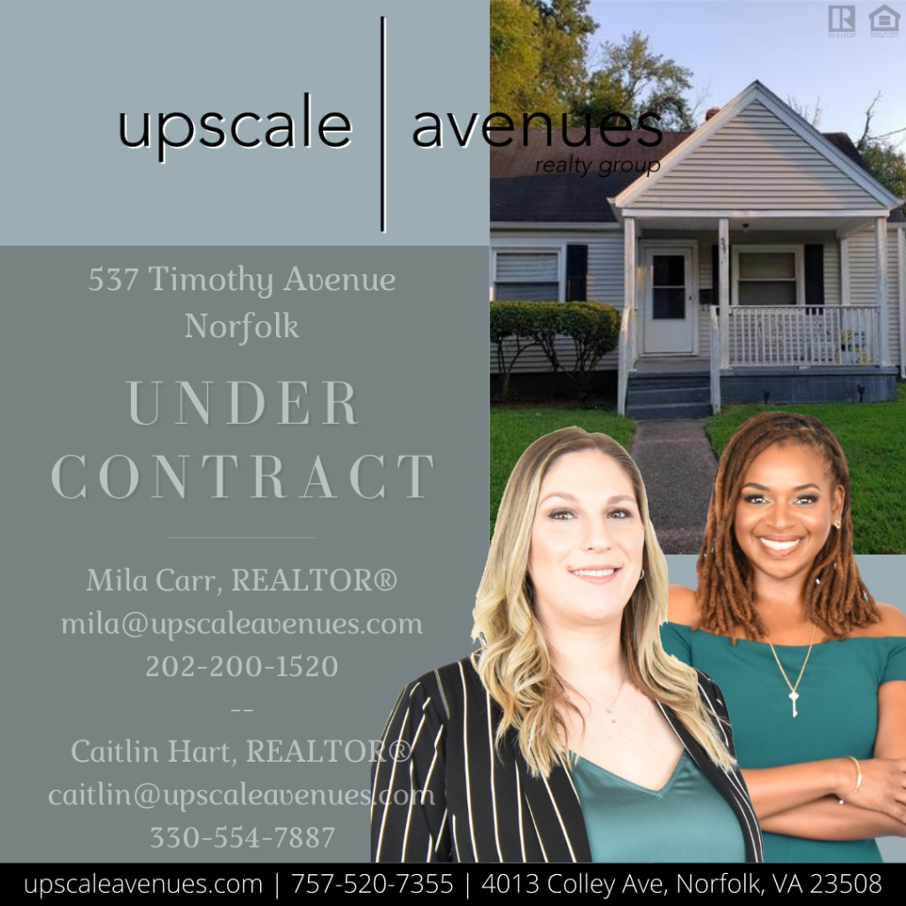 537 Timothy Avenue Norfolk - Under Contract