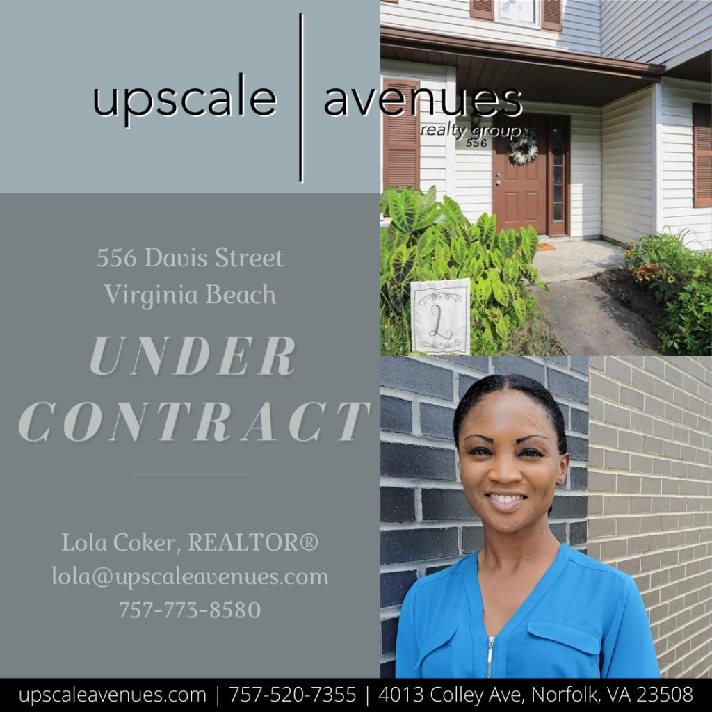 556 Davis Street Virginia Beach - Under Contract