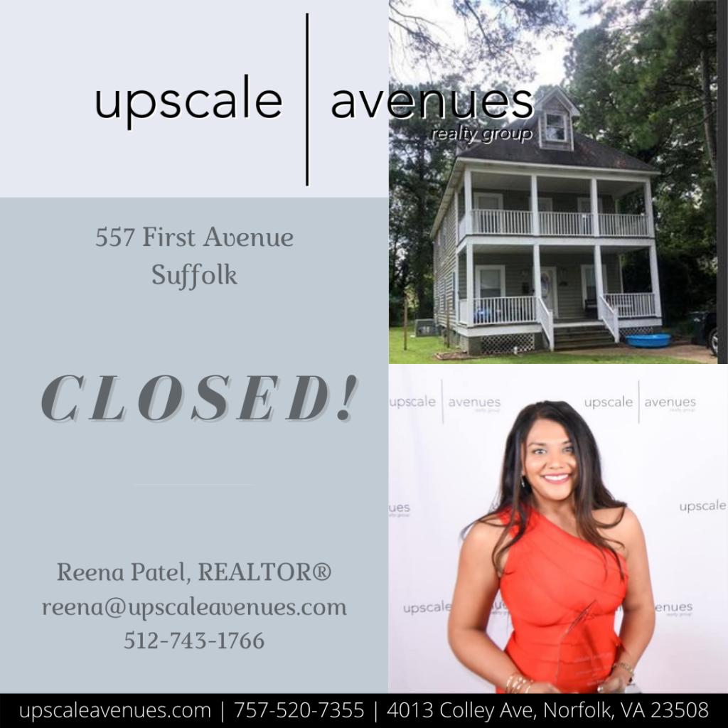 557 First Avenue Suffolk - Closed