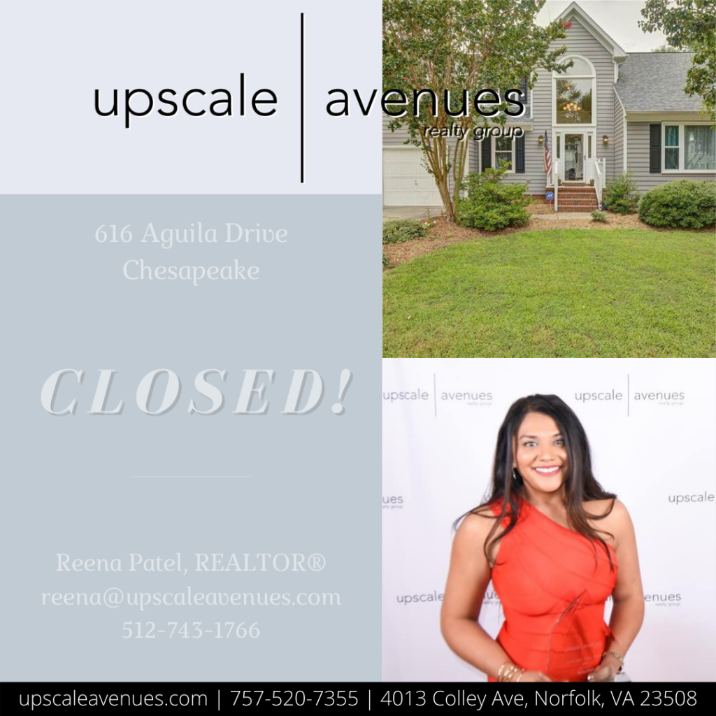 616 Aguila Dr Chesapeake - Closed