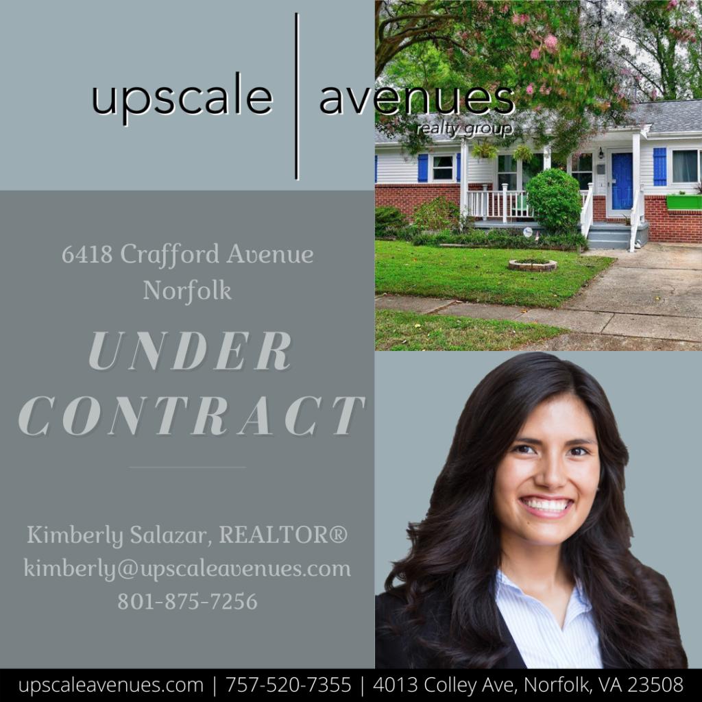 6418 Crafford Avenue Norfolk - Under Contract