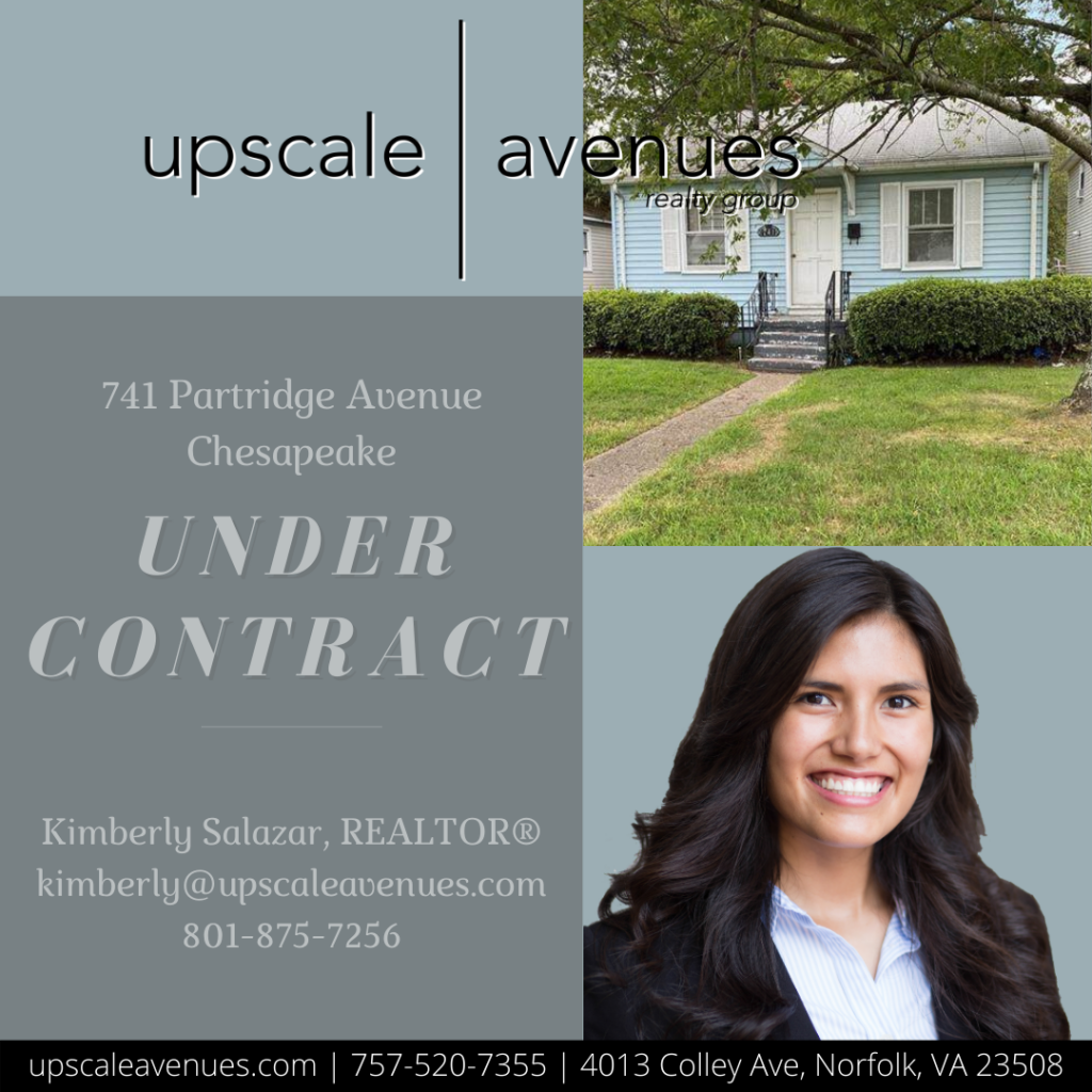 741 Partridge Ave Chesapeake - Under Contract