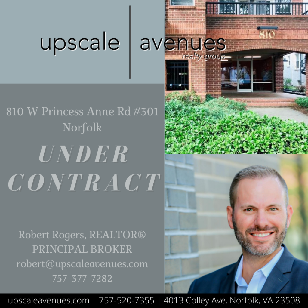 810 W Princess Anne Rd 301 Norfolk - Under Contract