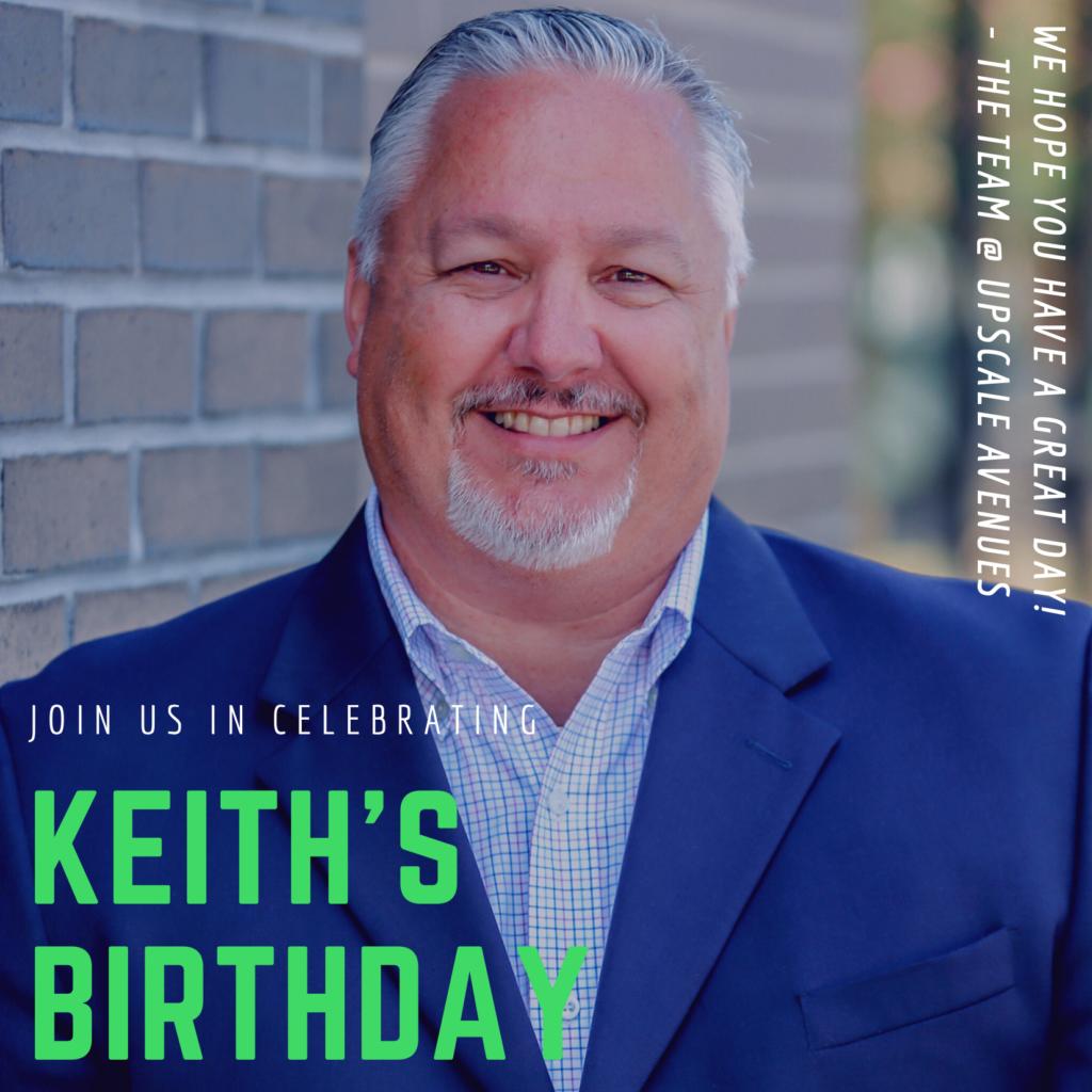 Birthday - Keith