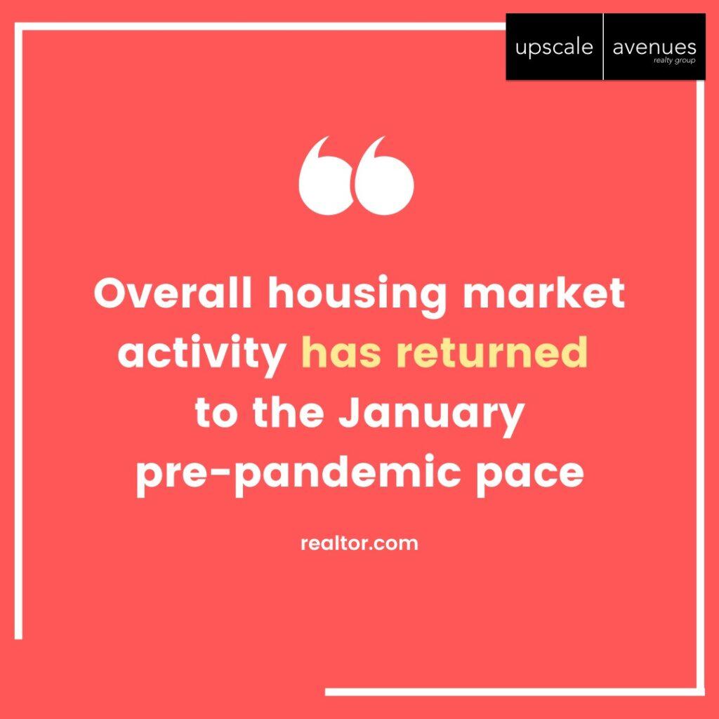 KCM overall housing market returned