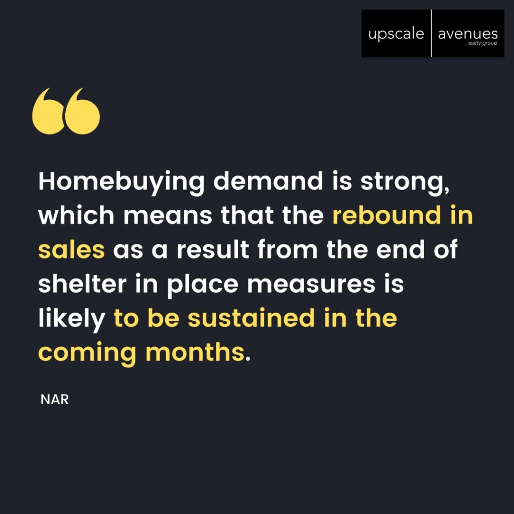 Home buying demand is strong