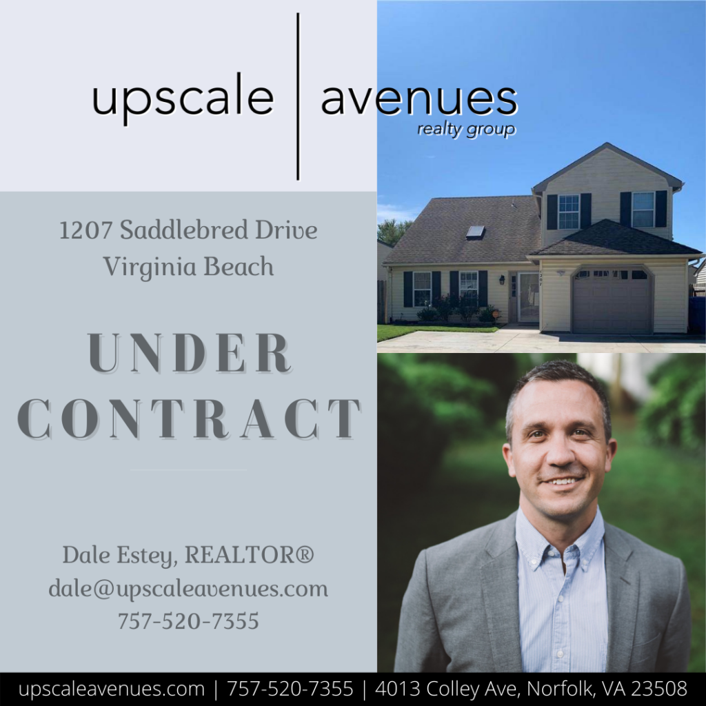 1207 Saddlebred Drive Virginia Beach - Under Contract