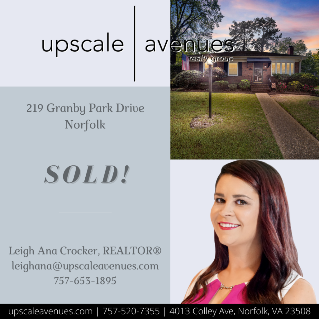 219 Granby Park Drive Norfolk - Sold