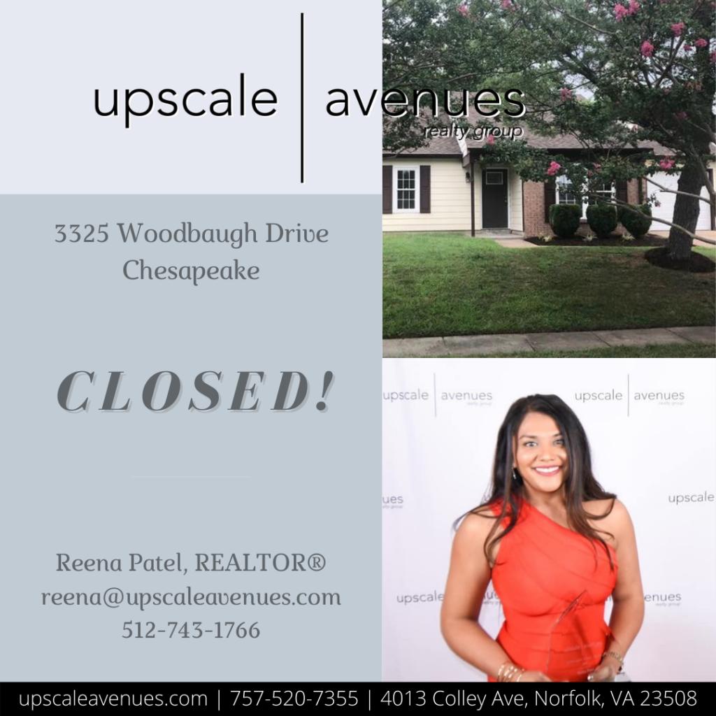 3325 Woodbaugh Drive Chesapeake - Closed