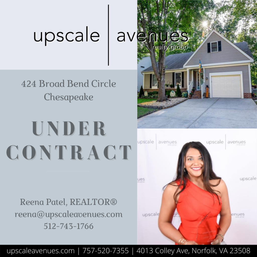 424 Broad Bend Circle Chesapeake - Under Contract