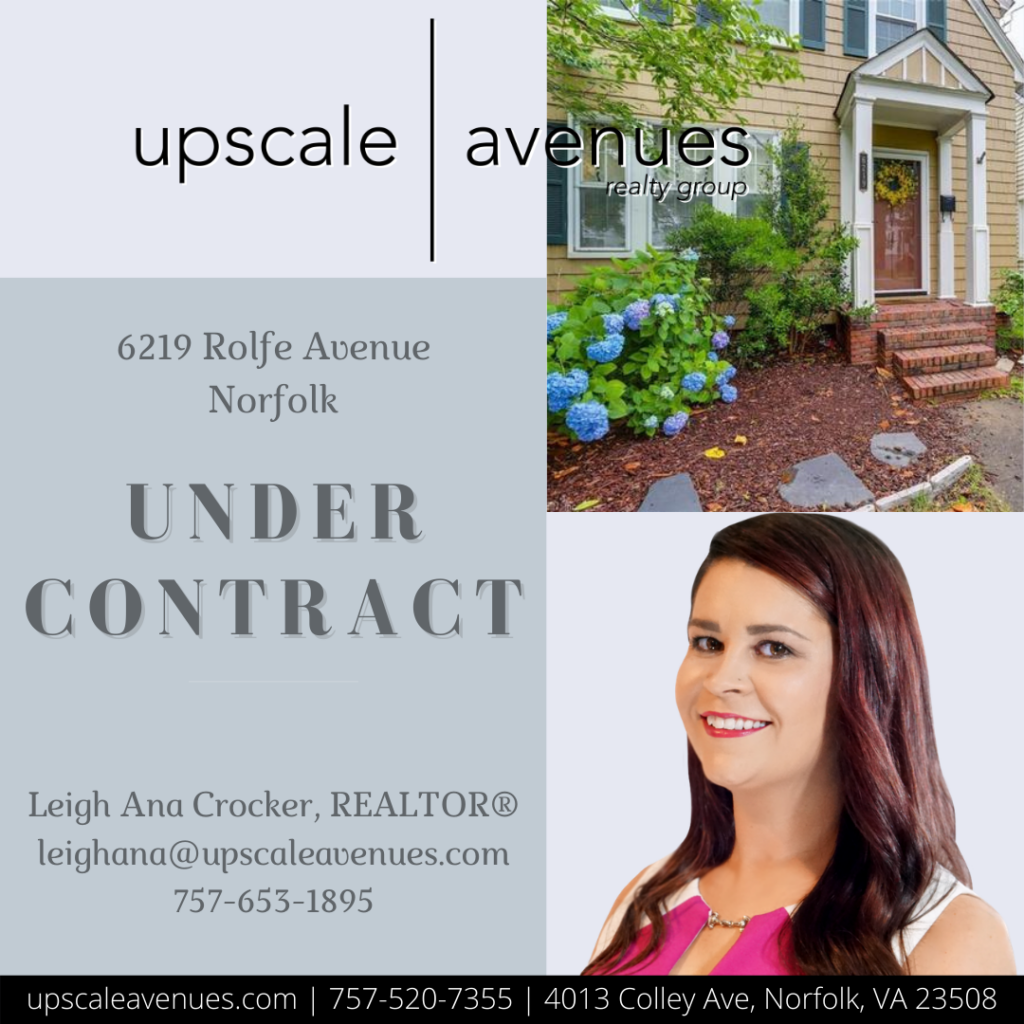 6219 Rolfe Ave Norfolk - Under Contract