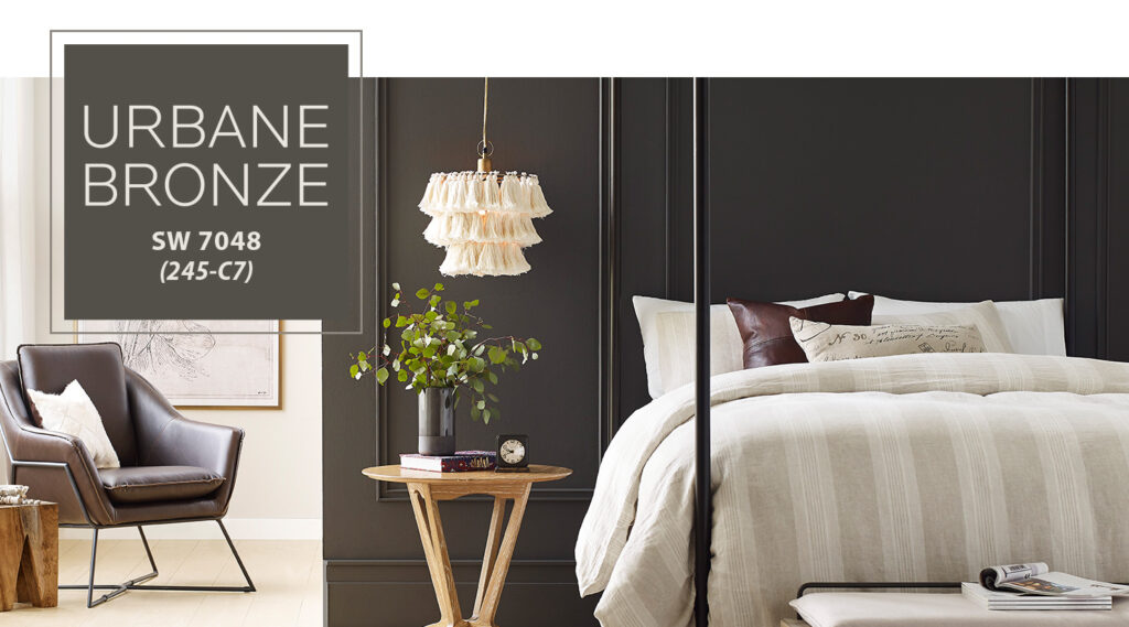 Sherwin-Williams 2021 Color of the Year- Urbane Bronze 2