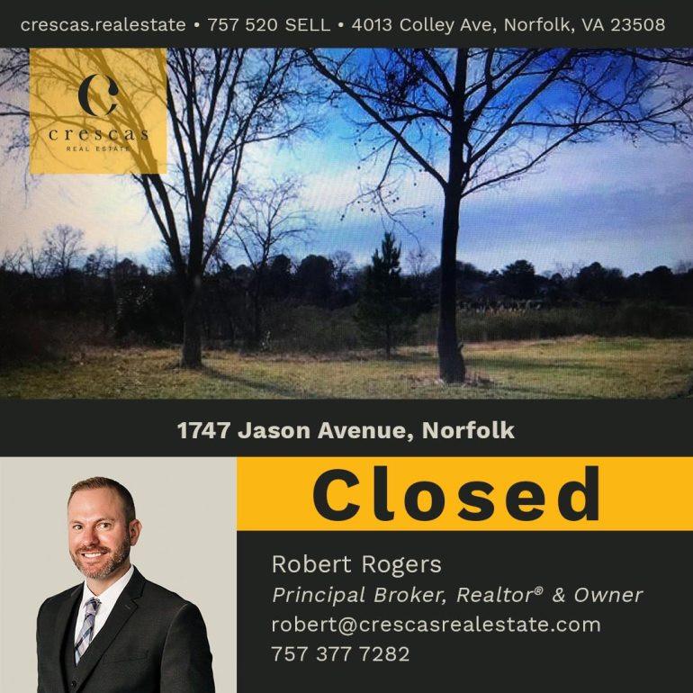 1747 Jason Avenue Norfolk - Closed