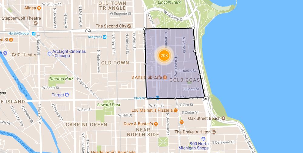 chicago gold coast mansion district real estate