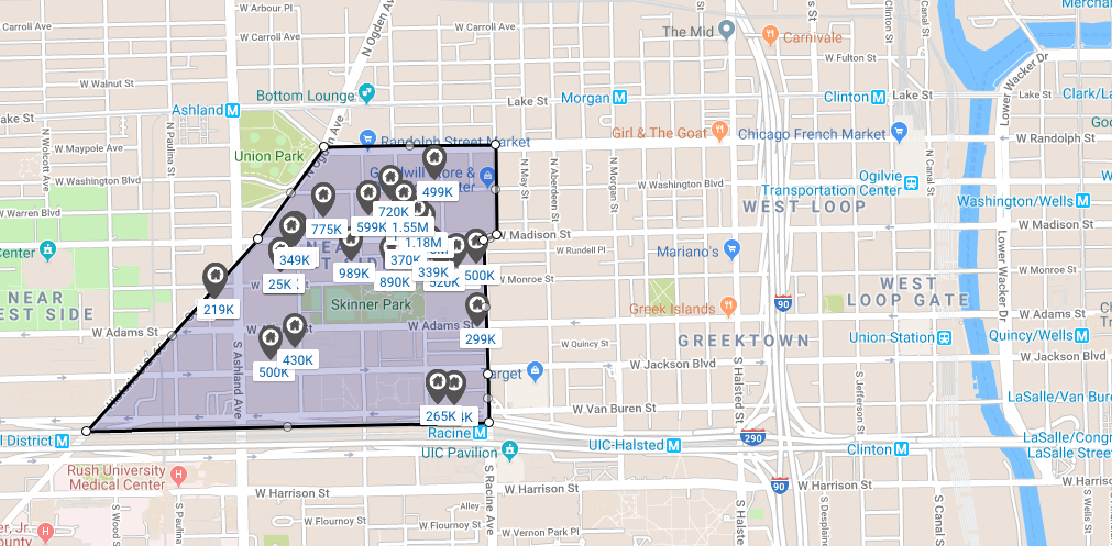 chicago west loop skinner park real estate