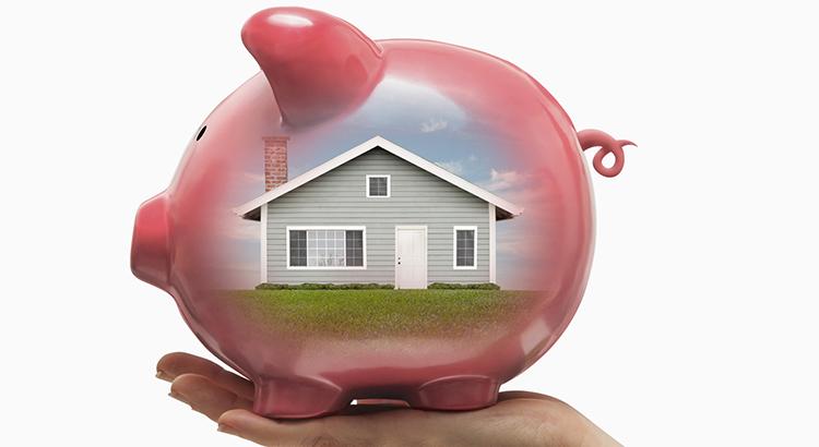 Home is a good piggy bank