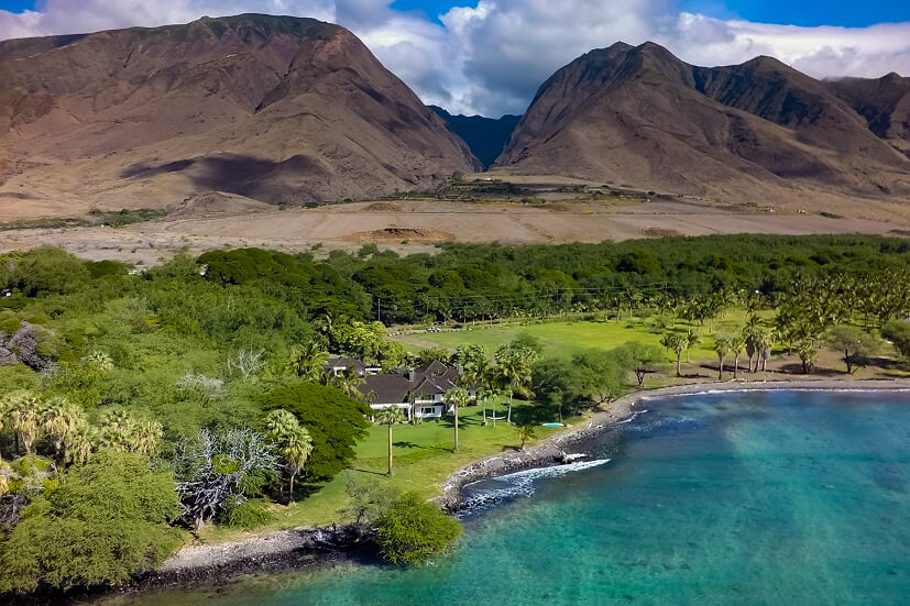 Check out olowalu oceanfront homes for sale