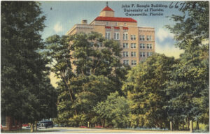 Postcard of The Seagle Building, Gainesville, Florida