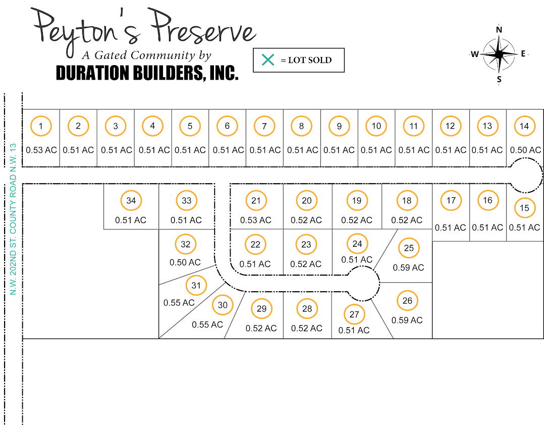 Peyton's Preserve Lots