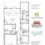 Grand Oaks Floor Plans - Magnolia by Mike Weseman