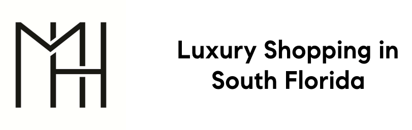 Image Depicts Michelle Howlands Logo with Tagline Luxury Shopping in South Florida