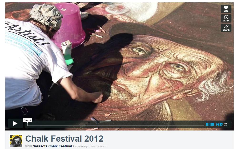 Sarasota Florida Chalk Festival