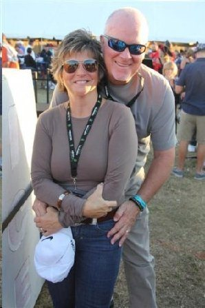 Pat and his wife Julie
