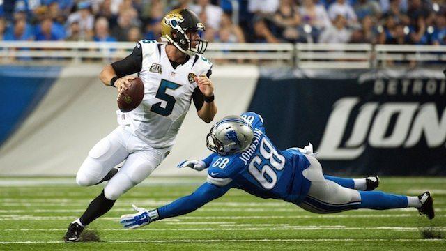 Blake Bortles: Jaguars versus Lions