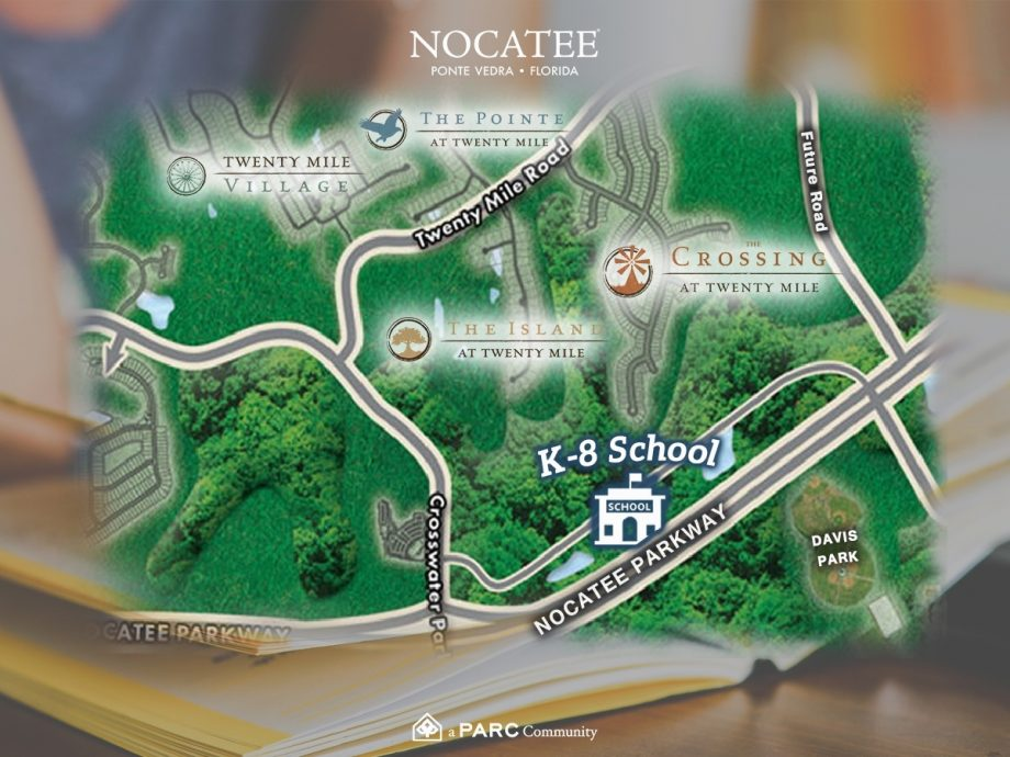 New Nocatee School Location Announced Real Estate Listing Ponte