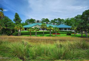 Marsh Landing, FL Country Club: Clubhouse.