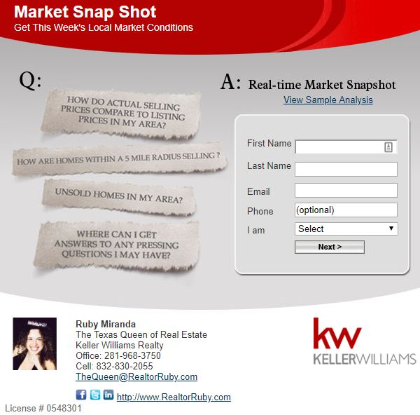 Get Your Market Snapshot