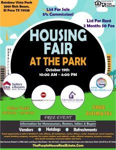 Housing Fair El Paso TX ERA Sellers and Buyers Real Estate
