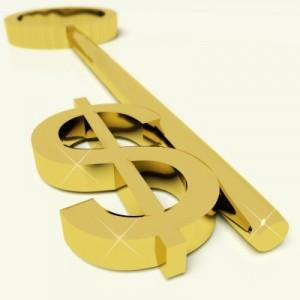 Dollar sign key
