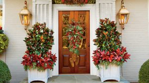 9 Ways To Decorate Your Front Door For The Holidays