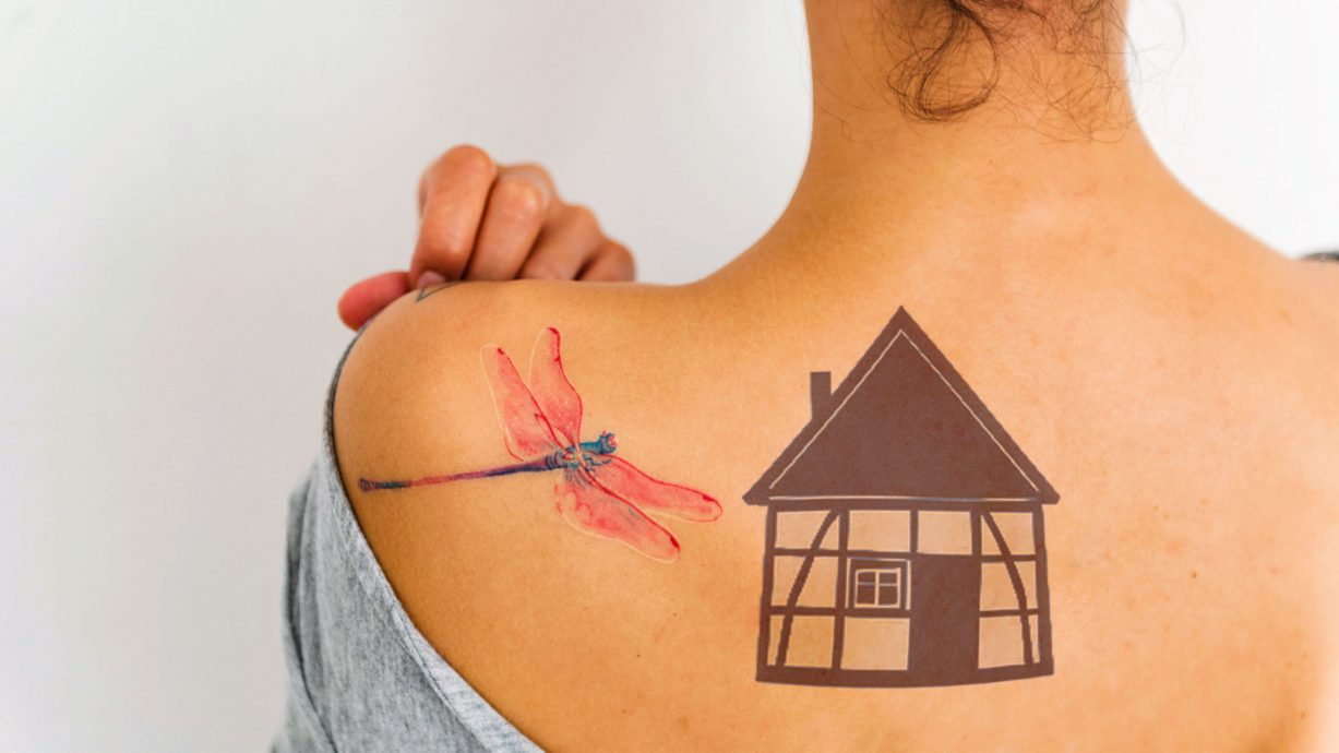 House Tattoos The Latest Craze That Takes Home Love To A