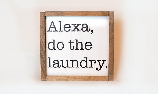 alexa laundry