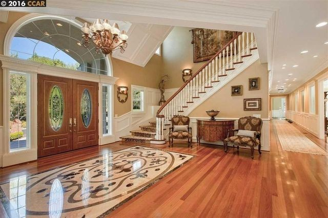 Steph Curry's new home, interior