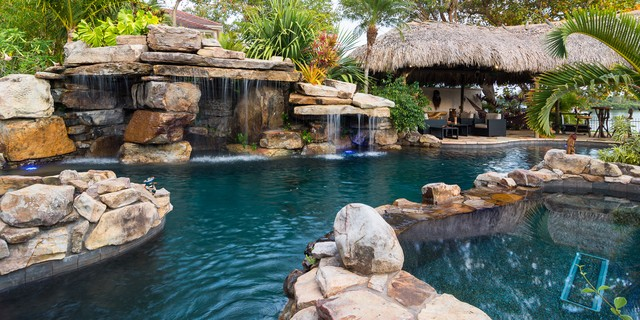 Pool Photography tropical-pool