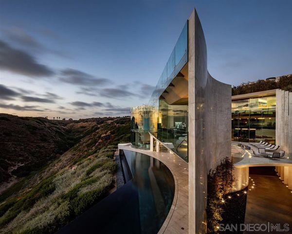 Razor House in La Jolla, CA