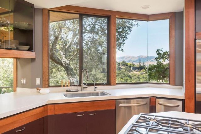 Kitchen view from home in San Rafael