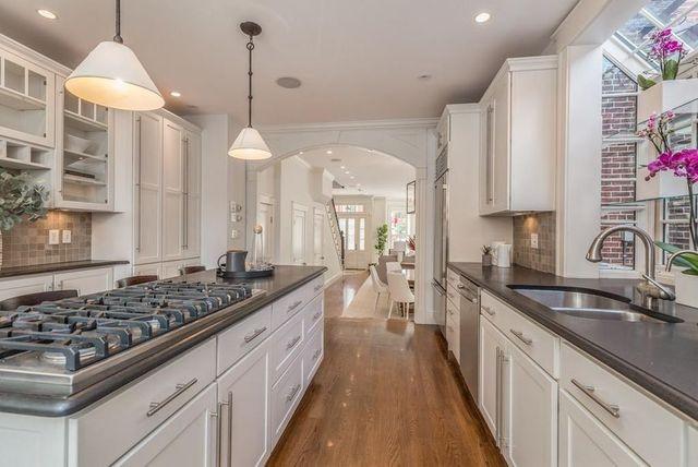 Kitchen Brad Marchand Boston home