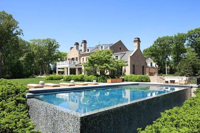 Tom Brady mansion exterior Brookline, MA
