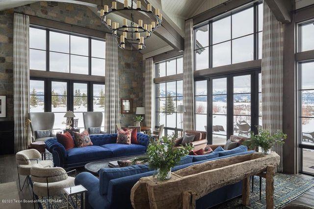 Living room Jackson Hole WY